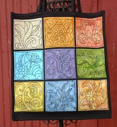 fused glass project ideas | Advanced Embroidery Designs. Free Projects and Ideas. Stained Glass ...