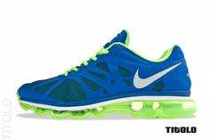 Nike Air Max+ 2012 – Game Royal / Electric Green. Thirst quenching