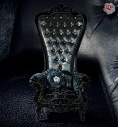Goth Gothic Chair Victorian Furniture Do You Need Directions To Go Home My House