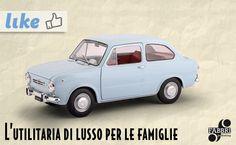 Fiat 850 Super (1964) #edicola #collezione #vintage