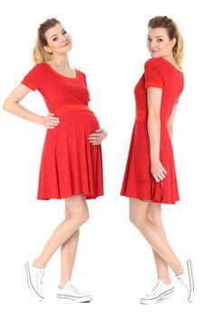 CAREY Kleid V2R in Rot ♥