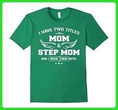 Mens MOM & GRANDMA: STEPMOM T-shirt XL Kelly Green - Relatives and family shirts (*Amazon Partner-Link)