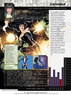 DC Universe Power Profiles - Zatanna