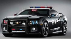 Chevy Camaro Cop Car