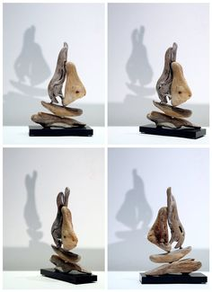 Driftwood art Two Small Sailboats by driftwoodartwork on Etsy