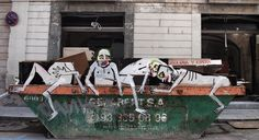 Francisco De Pajaro, Barcelona Street Art