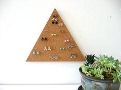 Modern handpainted jewelry organizer minimalist space saving