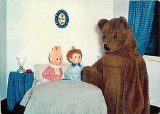 Puppets toys Nounours Nicolas et Pimprenelle Bonne nuit les Petits postcard