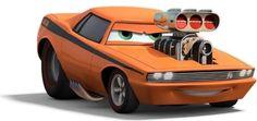 Disney Cars , Dodge Challenger