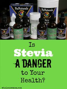 Have you heard that stevia might be bad for you? That is could cause all sorts of problems like infertility? What's the STRAIGHT truth? This post covers all the concerns and gets down to the real truth behind stevia being safe or not!