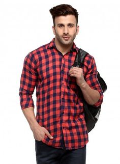 Buy Checked Brush Twill Casual Shirt Online at Low prices in India on Winsant  #shirts #casualshirt #mensfashion #fashionblogger #fashion #style #winsant #pinterestmarketing #pinterest Formal Shirts For Men, Online Shopping Websites, Trouser Jeans, Check Shirt, Daily Wear, Workout Shirts, Men Casual, Menswear, India