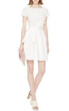 Side-Tie Cotton-Poplin Dress by Carven - Moda Operandi