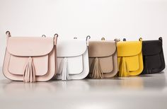 Leather satchels with cross body strap bags