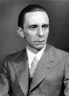 1939 1945 Portrait de Joseph Goebbels