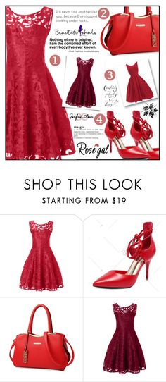 """Rosegal"" by aida-ida on Polyvore featuring Mrs Darcy and vintage"