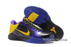 """Now Buy Lastest Nike Zoom Kobe 5 """"Away"""" Save Up From Outlet Store at Footseek. Cheap Puma Shoes, New Jordans Shoes, Nike Shoes, Air Jordans, Nike Factory Outlet, Nike Outlet, Kyrie Irving Shoes, Nike Shoe Store, Yellow Online"""