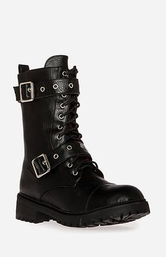 Dirty Laundry Lifeguard Boots in Black 6 - 10   DAILYLOOK