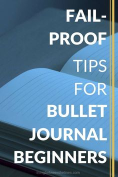 If you want to start a bullet journal but aren't sure how, these tips and hacks will help get you started!