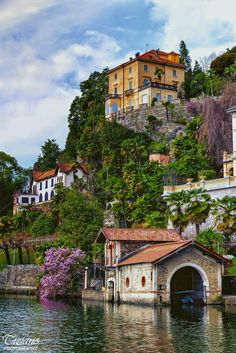 Orta San Giulio ~ Piedmont, Italy- I would like to retire here. Places Around The World, Oh The Places You'll Go, Travel Around The World, Places To Travel, Places To Visit, Around The Worlds, Italy Vacation, Italy Travel, Italy Honeymoon