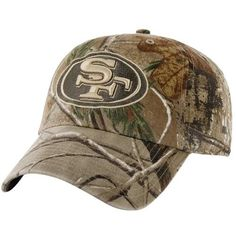 '47 Brand San Francisco 49ers Franchise Fitted Hat - Realtree Camo