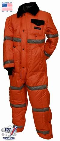 50ffb174b90 High Visibility Freezer Coverall Industrial Freezers