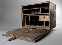 Military field desk, c. 1862-65, from the American Civil War