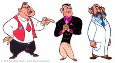 Stephen Silver's portfolio : TV Animation