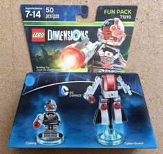 NEW! DC Comics: Cyborg Fun Pack [LEGO Dimensions, 71210 Ships FREE!!! #LEGO