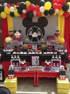 Mickey Mouse Birthday Party Ideas | Photo 1 of 10