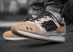 Asics Gel Respector Japanese Garden On Feet #asics #trainers