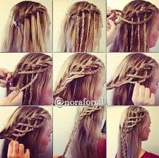 Image result for how to do a braid step by step