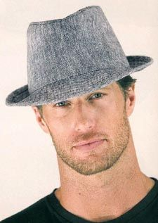 fedora hats men Tony needs a hat, too.