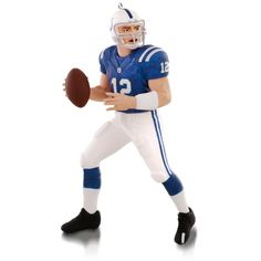 NFL  Indianapolis Colts Andrew Luck #12 Ornament.   Available:  October 2015  $17.95