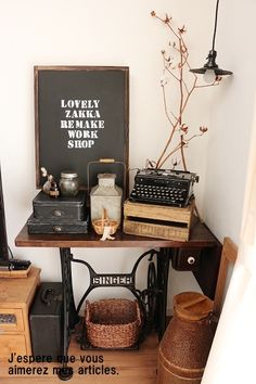●男前ステンシルで、イベント黒板を自作で*可愛くて、かっこいい空間作り&新しい取材決定● |・:*:ナチュラルアンティーク雑貨&家具のお部屋・:*