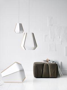 Lullaby: sculptural pendant light by Monica Förster – Llamas' Valley