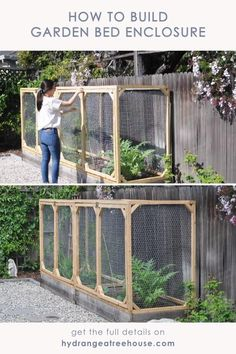 diy garden bed cover to protect your raised bed from small animals, vegetable bed, how to build a raised bed protective cover Raised Vegetable Gardens, Veg Garden, Vegetable Bed, Raised Gardens, Garden Boxes, Home Vegetable Garden Design, Terraced Vegetable Garden, Gutter Garden, Garden Farm