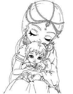 Baby Krishna by JadeDragonne