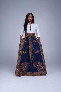 African Skirts   African Dresses   Grass Fields Fashion – Grass-Fields #ad #africanfashiondress