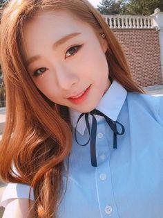 YeonJung Kpop Girl Groups, Korean Girl Groups, Kpop Girls, Yuehua Entertainment, Starship Entertainment, K Pop, Lee Jin, Kim Hyun, Air Force Blue