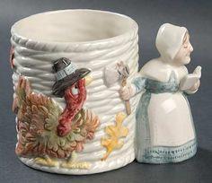 mug in the Pilgrims Progress pattern by Fitz/floyd