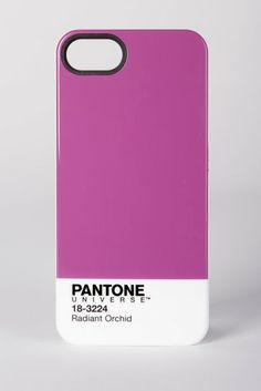 Pantone 2014 color of the year: Radiant Orchid Pictured: Pantone iPhone