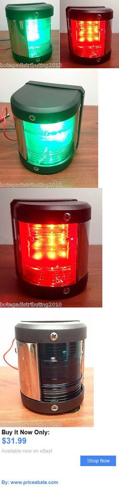 boat parts: Marine Boat Green Starboard And Red Port Side Led Navigation Light BUY IT NOW ONLY: $31.99 #priceabateboatparts OR #priceabate