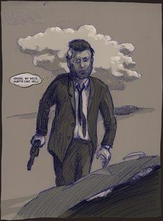 JFK on a mission;  check it out on kickstarter.com search for: JFK Secret OPS