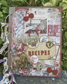 Recipe Book ~~Scraps of Darkness~~ - Scrapbook.com