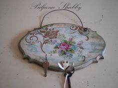 Shabby Chic Hanger Keys
