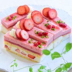 2015 . 5 . 2 . . . . Strawberry and lemon mousse cake emojiemoji . 『 いちごとレモンムースのケーキ 』 。 . . プランタニエ 春と言う名のお菓子 … 。 #熊谷裕子 さんレシピのプティ・ガトー . . . 可愛いく出来た♡ よね?(笑). もう 熊谷さんのケーキ可愛いくて . 作りたいのばっかり 〜 . . これはムースだから、こう暑くちゃ . 持ち運び難しいので 仕事終ったら . ご近所さんをお家カフェにお招きしようemoji 。 . . . . .