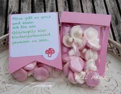 #Glückspilze #Verabschiedung #Kindergarten #Geschenk #Erzieher #Tüte