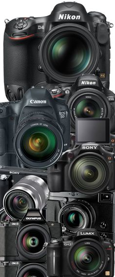 Offering the latest technology, guidelines for you to buy a new camera specials from leading DSLR camera manufacturers. Here you will find the best camera range, armed with luxury and superlative systems and deliver performance at a high level. Dedicate Top 8 Best of the Best Digital Camera 2013