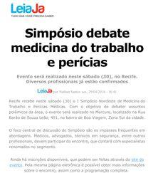 Simpósio de Medicina | Edição Recife Maio/2016  Produção do Evento realizada pela PSIU Comunicação e Eventos