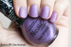 Nicole by OPI I Lilac Gumdrops Swatch